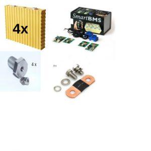 Litiumjon pakett med BMS